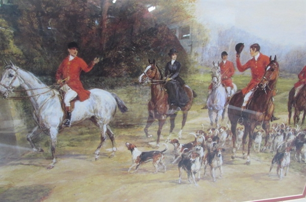 ENGLISH HUNTING DECOR
