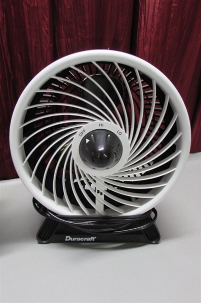 DURACRAFT FANS & EXTENSION CORDS