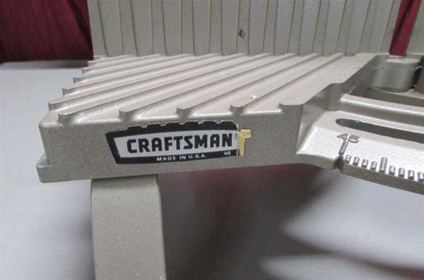 CRAFTSMAN MITER BOX