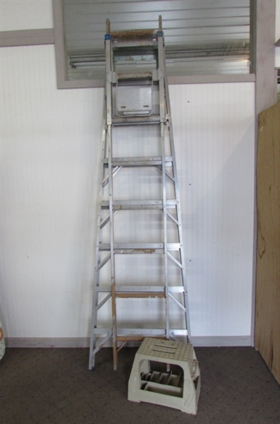 WERNER CRAFTMASTER 5-WAY COMBINATION LADDER & STEP STOOL