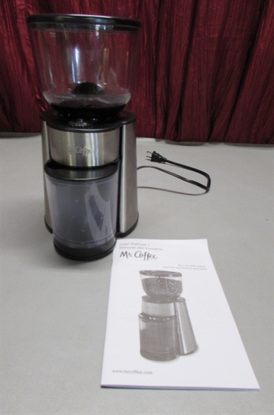 WEST BEND SLOW COOKER, MR. COFFEE COFFEE GRINDER & TIGER AIR POT
