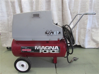 SANBORN MAGNAFORCE AIR COMPRESSOR