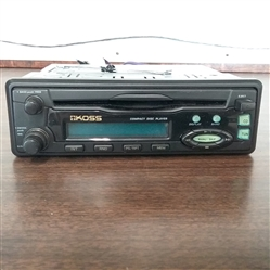 KOSS CAR CD PLAYER STEREO