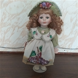 "13"" PORCELAIN DOLL"