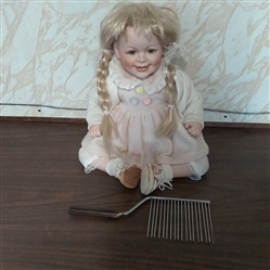 "12"" PORCELAIN DOLL"