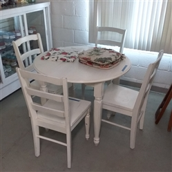 WORLD MARKET DINING TABLE WITH CHAIRS