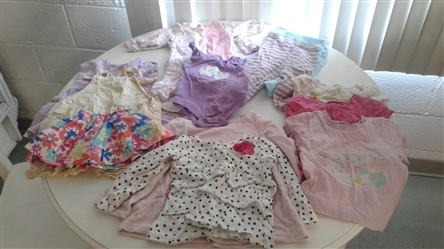 BABY GIRL CLOTHING NEWBORN TO 3T