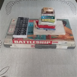VINTAGE AND NEWER BOARD GAME, CARDS, AND DOMINOES