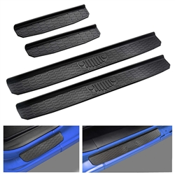 DOOR SILL GUARDS FOR 2018 JEEP WRANGLER
