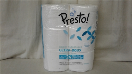 PRESTO ULTRA SOFT TOILET PAPER