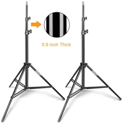 "TWO EMART 62"" PHOTOGRAPHY STANDS"