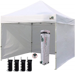 EURMAX 10 X 10 FT POP UP CANOPY WITH SIDES