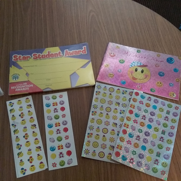 REWARD STICKERS, CHORE CHARTS, TICKET AWARDS & STICKERS