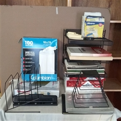 COPY PAPER, FILE FOLDERS, PAPER TRAYS, LARGE ENVELOPES & OTHER OFFICE SUPPLIES