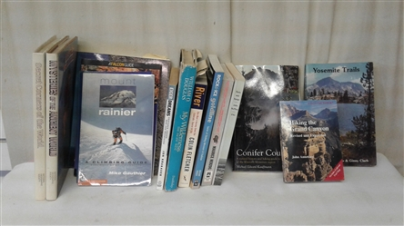JOURNEYS, HIKING, AND CLIMBING BOOKS