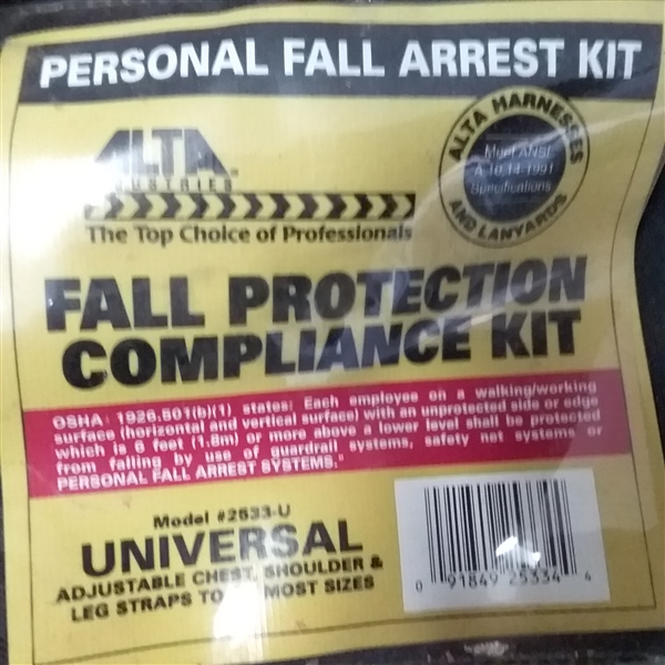FALL PROTECTION COMPLIANCE KIT
