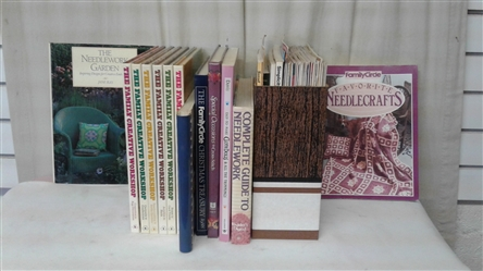 BOOKS AND MAGAZINES ON CRAFTS AND NEEDLECRAFTS
