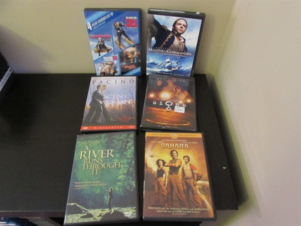 LOT OF BLU-RAY DISCS AND DVDS 40+