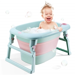 PORTABLE FOLDING INFANT TO TODDLER TUB