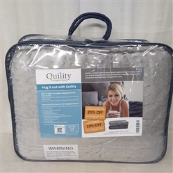 QUILITY 15 LB WEIGHTED BLANKET