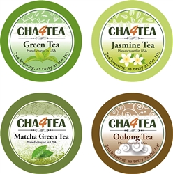 CHA4TEA GREEN TEA K-CUP VARIETY PACK 36 CT