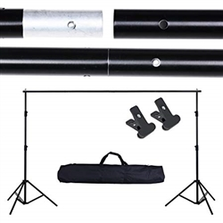 PORTABLE ADJUSTABLE PHOTOGRAPHY BACKGROUD SUPPORT STAND