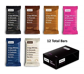 RXBAR BEST SELLER VARIETY PACK PROTEIN BAR 12 PACK