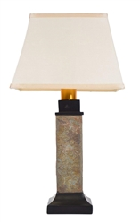 TORCH LIGHT ST913B WIRELESS TABLE LAMP NATURAL SLATE