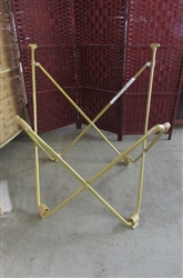 GOLD BUTTERFLY CHAIR FRAME
