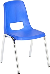 "PAIR OF 14"" STACKABLE SCHOOL CHAIRS"