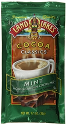 Land-O-Lakes Mint Hot Cocoa Mix (Pack of 12)