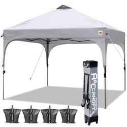 ABCCANOPY Canopy Tent 10x10 Pop Up Canopy with Wheeled Carry Bag