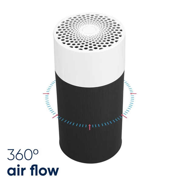 Blueair Blue Pure 411 Air Purifier with Allergen and Odor Remover, Washable Pre-Filter