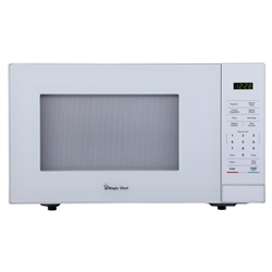 Magic Chef 1.1 cu. ft. Countertop Microwave in White