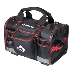 Husky 18 in. Large Mouth Tool Bag with Tool Wall