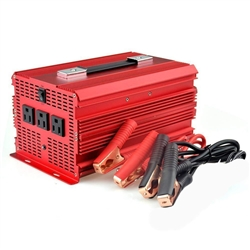 BESTEK 12-Volt DC to AC 2000-Watt Power Inverter