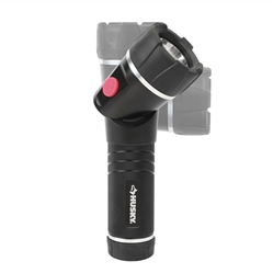 Husky 400 Lumens LED Swivel Aluminum Flashlight