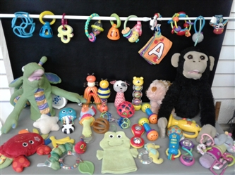 Baby Toys- Teethers, Rattles, Stuffed Animals, Puppets, and more