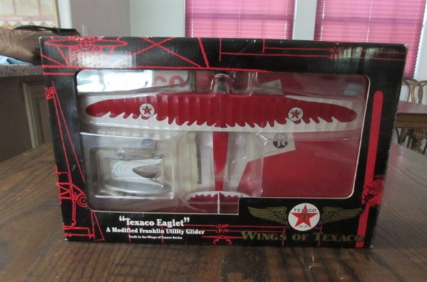 DIE CAST COLLECTIBLE TEXACO EAGLET BANK