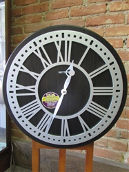 NEW RHYTHM STERLING SMALL WORK COLLECTION WALL CLOCK (18)