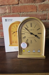 NEW HOWARD MILLER WEATHER FORECASTER ARCH CLOCK - DISPLAY (111)