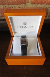NEW REGNIER EPSILON WATCH WITH LEATHER BAND