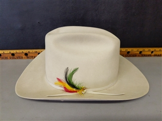 Four Cowgirl Hats - Stetson, Wrangler etc