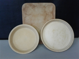 The Pampered Chef Stoneware Lot