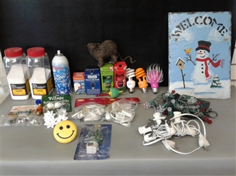 Holiday Decorations Lot