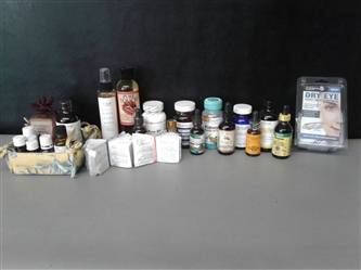 Essential Oils, Supplements, Soap, and More