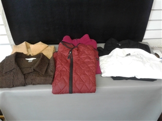 Womens Dress Shirts and Vests
