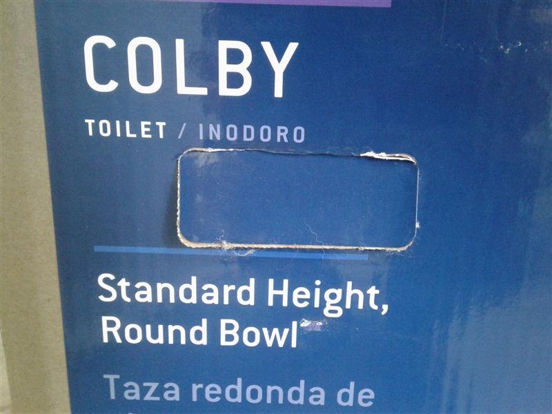 Colby Toilet With Tank *Lid is Broken*