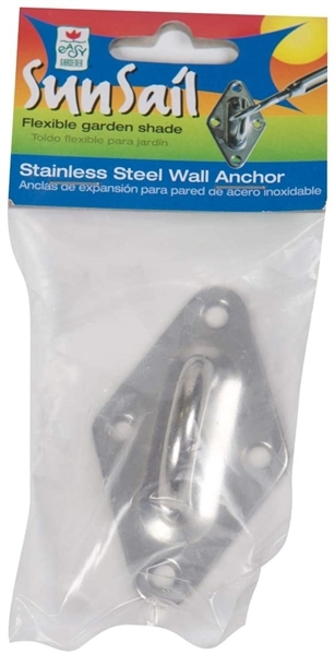 Easy Gardener Stainless Steel Wall Anchor for Sun Shade
