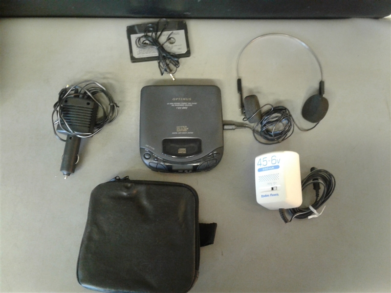 Optimus Portable Compact Disc Player